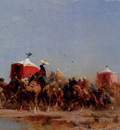 Pasini Alberto Caravan In The Desert