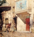Pasini Alberto Outside The Mosque