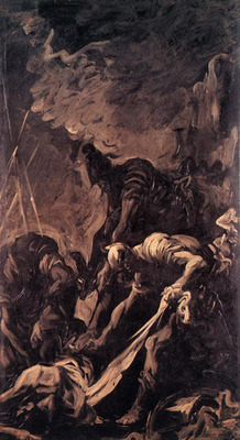 MAGNASCO Alessandro Entombment of a Soldier
