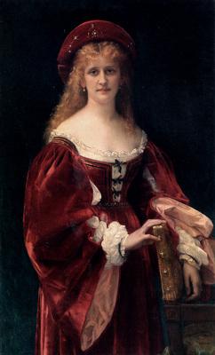 Cabanel Alexandre Patricienne De Venise