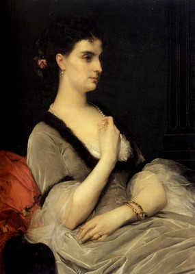 Cabanel Alexandre Portrait Of Countess E A Vorontsova Dashkova
