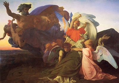 cabanel alexandre the death of moses