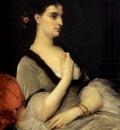 Cabanel Alexandre Portrait Of Countess E A Vorontsova Dashkova