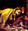 the death of francesca de rimini and paolo malatesta