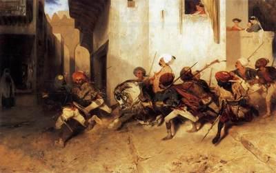 DECAMPS Alexandre Gabriel The Turkish Patrol