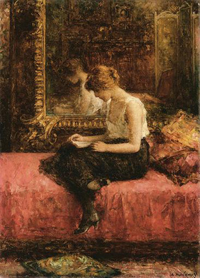 Harlamoff Alexej Literary Pursuits of a Young Lady