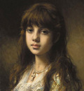 Harlamoff Alexej Little Girl