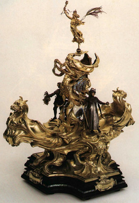 Epergne Presented to Queen Victoria