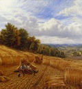 Glending Alfred Augustus Resting From The Harvest