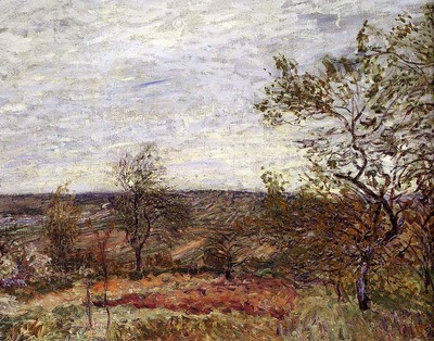 Sisley Alfred Windy Day At Veneux