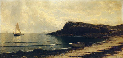 Bricher Alfred Thompson Along the Shore