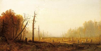 Bricher Alfred Thompson Autumn Landscape