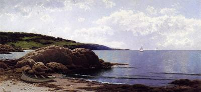 Bricher Alfred Thompson Baily s Island Maine