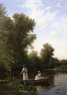 Bricher Alfred Thompson Boating in the Afternoon
