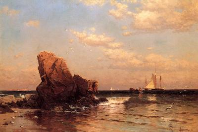 Bricher Alfred Thompson By the Shore