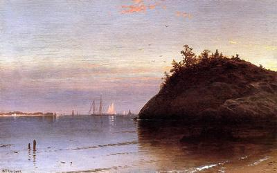 Bricher Alfred Thompson Narragansett Bay