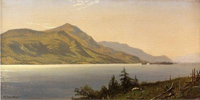 Bricher Alfred Thompson Tontue Mountain Lake George aka Tongue Mountain Lake George