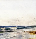 Bricher Alfred Thompson Far Rockaway Beach
