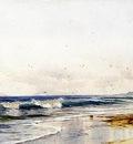 Bricher Alfred Thompson Far Rockaway Beach