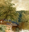 Bricher Alfred Thompson Rowboats for Hire