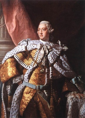 RAMSAY Allan Portrait Of George III