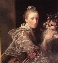 RAMSAY Allan Portrait Of The Artists Wife
