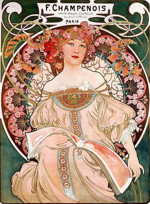 F Champenois Imprimeur Editeur 1897 55 2x72 7cm