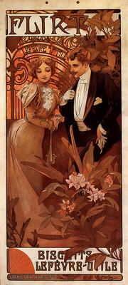 Flirt 1899 30x64 2cm calendar