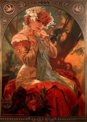 Lefevre Utile 1903 53x72cm