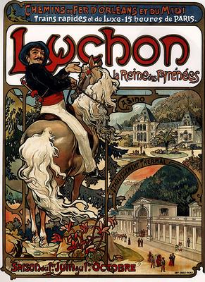 Luchon 1895 75 2x105 7cm
