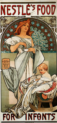 Nestles Food for Infants 1897 34 5x72cm