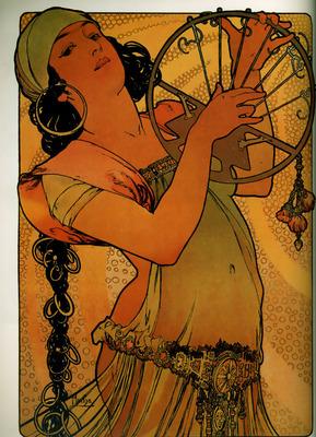 Salome 1897 41x31cm litho