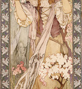 Mucha Alphonse Maud Adams as Joan of Arc