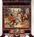The Judgement of Paris 1895 32 5x50cm calendar