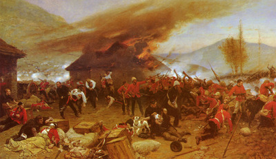 Neuville Alphonse Marie De The Defence Of Rorkes Drift