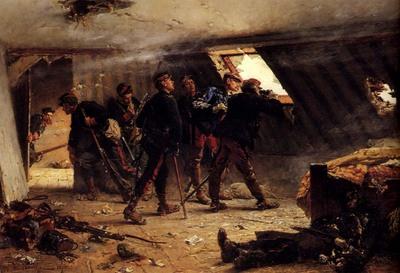 Neuville Alphonse de Episode From The Franco Prussian War