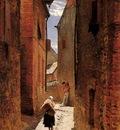 Neuville Alphonse de Street In The Old Town