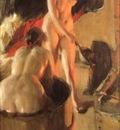 Zorn Women bathing in the sauna