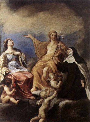 SACCHI Andrea The Three Magdalenes