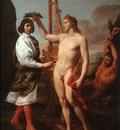 SACCHI Andrea Marcantonio Pasqulini Crowned By Apollo