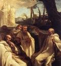 SACCHI Andrea The Vision Of St Romuald
