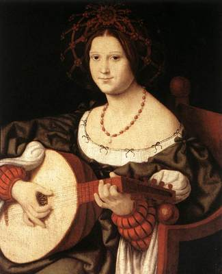 Solari Andrea The Lute Player