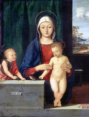 Solario Andrea Virgin and Child