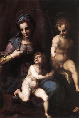 Madonna and Child with the Young St John WGA