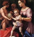 ANDREA DEL SARTO Holy Family Borgherini