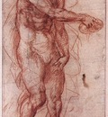 ANDREA DEL SARTO Study For The Baptism Of The People