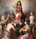 Madonna in Glory and Saints WGA