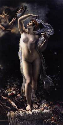 GIRODET Anne Louis Mademoiselle Lange As Venus