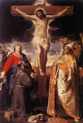 Carracci Annibale Crucifixion