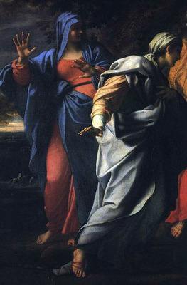 Holy Women at the Tomb of Christ detail WGA